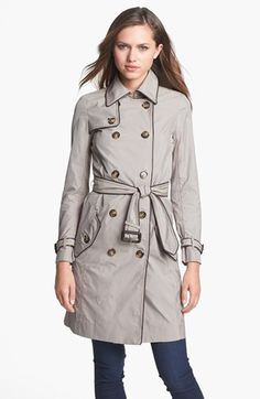 Everyone needs a new fall trench. | @Nordstrom + @Tory Burch