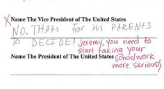 10 Extremely Clever Test Answers From An Extremely Clever Child