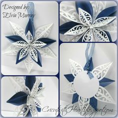 CTMH Artiste Ornament Star