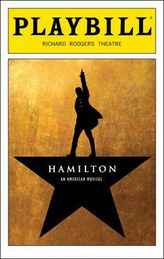 Hamilton Playbill