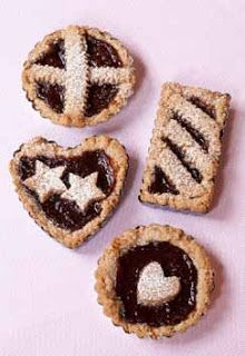 Mini Linzertortes from Pies and Tarts with Heart
