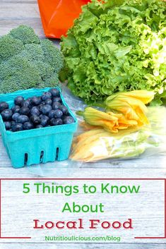 Eating local, farm-to-table food is very fashionable these days, but do you know what it even means? Learn five things about local food that you may not already know @jlevinsonrd. (sponsored)