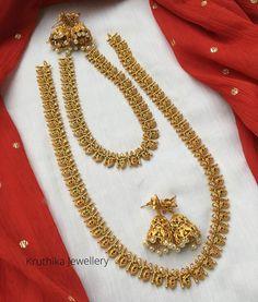 Fancy Jewellery, Latest Jewellery, Gold Jewellery Design, Cute Jewelry, Designer Jewellery, Gold Jewelry, Gold Earrings Designs, Necklace Designs, Fashion Earrings