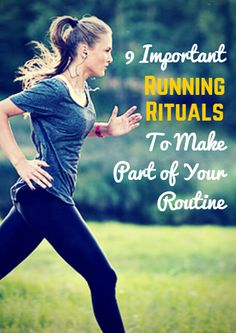 As runners, we spend a lot of time focusing on our pace, our form and our mileage, but even the most dedicated athletes can sometimes forget about the importance of pre and post-run habits. Read on for our advice on the best rituals to add to your daily routine - your running will thank you. 9 Important Running Rituals to Make Part of Your Routine