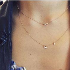 Collier en or rose diamants. bijoux de créateurs paris, myrtille beck, bague de fiançailles de créateurs, bracelet créateur paris