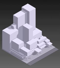 Sci-Fi City - Voxel Art Animation on Behance
