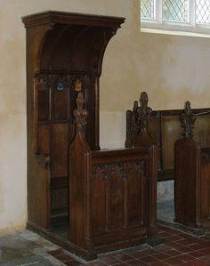 Hitcham bishops chair