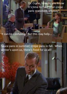 Crepe pan care according to the Crane Boys.