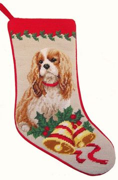 Pet lovers know who to go to for the highest quality cat and dog needlepoint stockings! Discover dog lover gifts and home decor with something for everyone. Dog Christmas Stocking, Needlepoint Christmas Stockings, Christmas Crafts, Christmas Time, Christmas Ideas, King Charles Spaniel, Cavalier King Charles, Pet Stockings, Cute Dog Photos