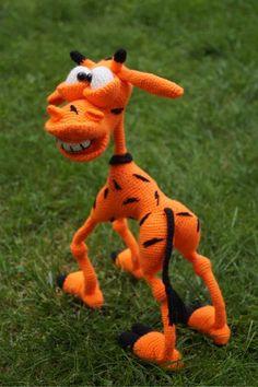 Жираф Натаниэль - Завязландия - Галерея - Форум почитателей амигуруми (вязаной игрушки)