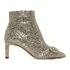 9fb05e7c36c2 Jimmy Choo - Silver Glitter Hanover Boots. Silber GlitterJimmy  ChooStiefelettenSchuh Stiefel