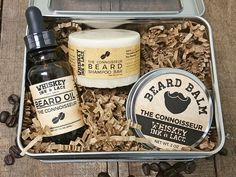 The best beard grooming kit for the beard connoisseur who appreciates good coffee and fine chocolate.    Scent: decadent coffee & rich cocoa  Scent Strength: strong  Therapeutic Essential Oil Benefits: antidepressant, antioxidant, energizing, invigorating, aphrodisiac  Key Benefits: Promotes circulation. High in vitamin C. Caffeine free, but rich in antioxidants. Softens skin. Aphrodisiac, because c'mon, who doesn't want to be up close with a beard that smells of coffee & chocolate?…
