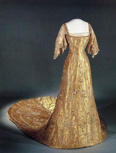 Coronation dress of Queen Maud of Norway, early XX century