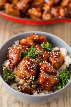 General Tso's Chicken Stir Fry