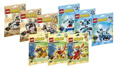 LEGO Mixels Series 5 Complete Set of All Figures 41536 - 41544