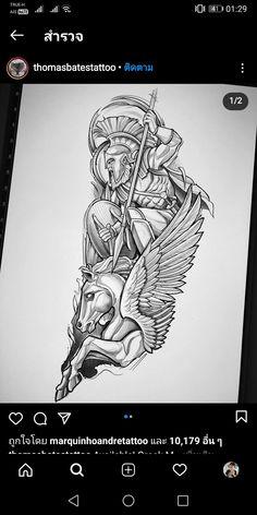 Rose Tattoos For Men, Black Tattoos, Tattoos For Guys, Evil Tattoos, King Tattoos, Cool Tattoo Drawings, Tattoo Sketches, Tattoo Alphabet, Zeus Tattoo