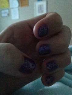 Purple and silver sparkly nails comment down below what I should do next,I will randomly pick one and I will give you a shout follow if I haven't and like some of your boards GoodLuck