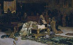 """""""Los amantes de Teruel"""", Antonio Muñoz Degrain, 1884"""
