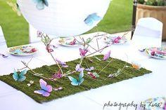 Mil ideas para un cumple infantil  de mariposas vintage…
