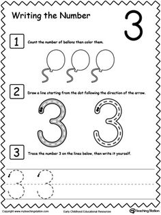 Learn to Count and Write Number 9 | Preschool activities, Learn to ...