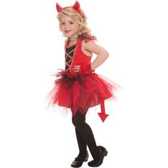 Devil Diva Toddler Halloween Costume