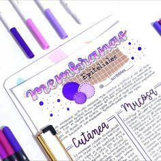 """647 Me gusta, 1 comentarios - 🇸🇨🇷🇮🇧🇧🇱🇪🇸 💙 (@____scribbles____) en Instagram: """"Holaaa 💜 este es el apunte ya finalizado de mi mini tutorial de IGtv, espero que les guste 🤩🤩 . . .…"""" Bullet Journal Banner, Bullet Journal Notes, Bullet Journal School, Bullet Journal Ideas Pages, Bullet Journal Layout, Bullet Journal Inspiration, Cute Notes, Pretty Notes, Lettering Tutorial"""