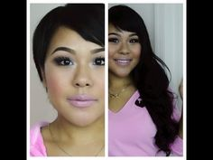 ▶ How to clip in hair extensions for very short hair/ MyPinkVanity and HairExtensionSale - YouTube