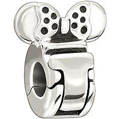 "Authentic Chamilia Disney Minnie Mouse Lock Charm Bead ""Comes with Branded Box, FREE Bonus, Ships Same Day"" Pandora Beads, Pandora Bracelets, Pandora Charms, Charm Bracelets, Chamilia Jewelry, Charm Jewelry, Beaded Jewelry, Charm Bead, Disney Charms"