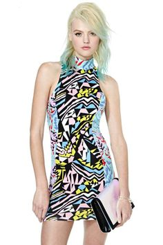 Nasty Gal Take It To The Max Dress