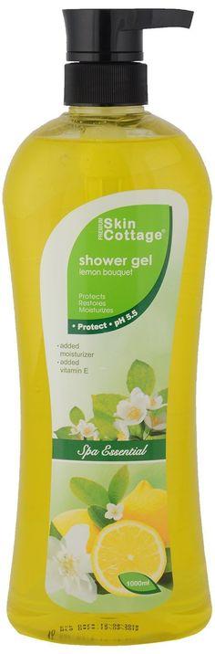 #skincare  Cottage Shower Gel, #lemon  Bouquet, 1000ml