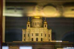Макет Храма Христа Спасителя / A model of the Cathedral of Christ the Saviour