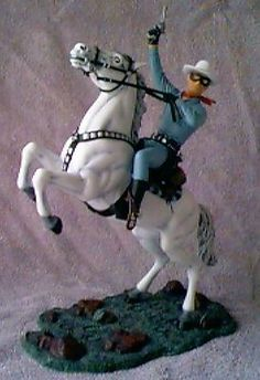 Aurora Lone Ranger model kit Vintage Models, Old Models, Vintage Toys, Plastic Model Kits, Plastic Models, Plastic Playhouse, The Lone Ranger, Model Cars Kits, Cowboys And Indians