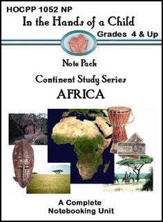 """(Free today 2.7.2013 ONLY. Pin today. Gone tomorrow so grab it now) Once thought of as the """"dark continent,"""" modern Africa comes to full light in our Africa Note Pack!"""