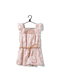 floral print jumpsuit - Skirts and shorts - Baby girl months) - Kids - ZARA Zara Jumpsuit, Pink Jumpsuit, Floral Jumpsuit, Baby Girl Fashion, Kids Fashion, Morgan Clothes, Baby & Toddler Clothing, Children Clothes, Jumpsuits For Girls