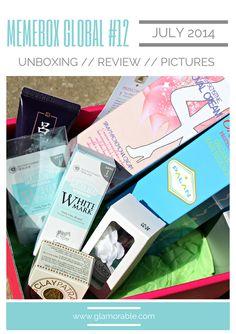 Memebox (미미박스) Global #12 Review, Pictures | via @glamorable #bbloggers #beauty #memebox #memeboxglobal #memebox12 #koreanskincare #banilaco