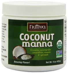 Nutiva Organic Coconut Manna, 15-Ounce (Pack of 2):Amazon:Grocery & Gourmet Food