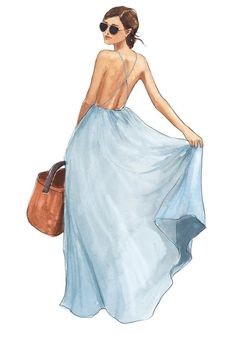 Pool aqua colour dress for summer
