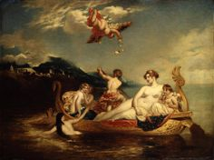 The Coral Finder: Venus and her Youthful Satellites, replica c.1820–48, by William Etty