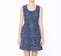 Gregory Parkinson Blue Dress