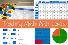 The secret to helping children learn to love math is to make it real by bringing math into your everyday life situations. And what is more real and everyday life than Legos! Let's make math fun!
