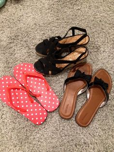 Nicole's Notes: Three Pairs of Cute and Affordable Spring Shoes #projectinspired #shoes