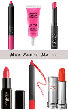 mad about matte lips #springbeauty
