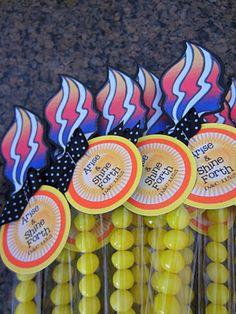 Young Women LDS Torch Handout