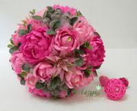 "Gallery.ru / Букет ""Розовое утро"" - Букеты из конфет 2 - lazursweet"