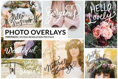 Photo Overlays   Portraits @creativework247