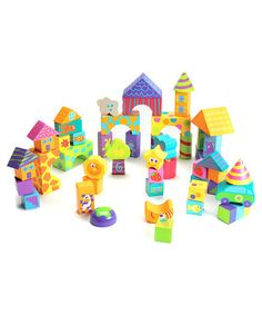 50-Piece Building Block Set by Boikido