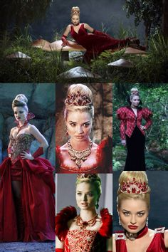 The Red Queen from Once Upon A Time In Wonderland / anastasia Alice In Wonderland Costume, Wonderland Party, Once App, Dracula, Evil Queen Costume, Villain Costumes, Emma Rigby, Hollywood Costume, Queen Outfit