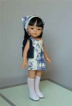 Patron de couture et tricot pour poupée | Ilys http://www.ilys.fr/robe-poupee/