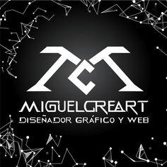 Rediseño de Logotipo MiguelCreart Logo Nasa, Calm, Artwork, Wordpress, Monogram, Visual Identity, Corporate Identity, Initials, Logos