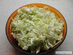 Blog pro mlsné jazýčky: Salát z čínského zelí Cabbage, Grains, Vegetables, Blog, Diet, Cabbages, Vegetable Recipes, Blogging, Seeds